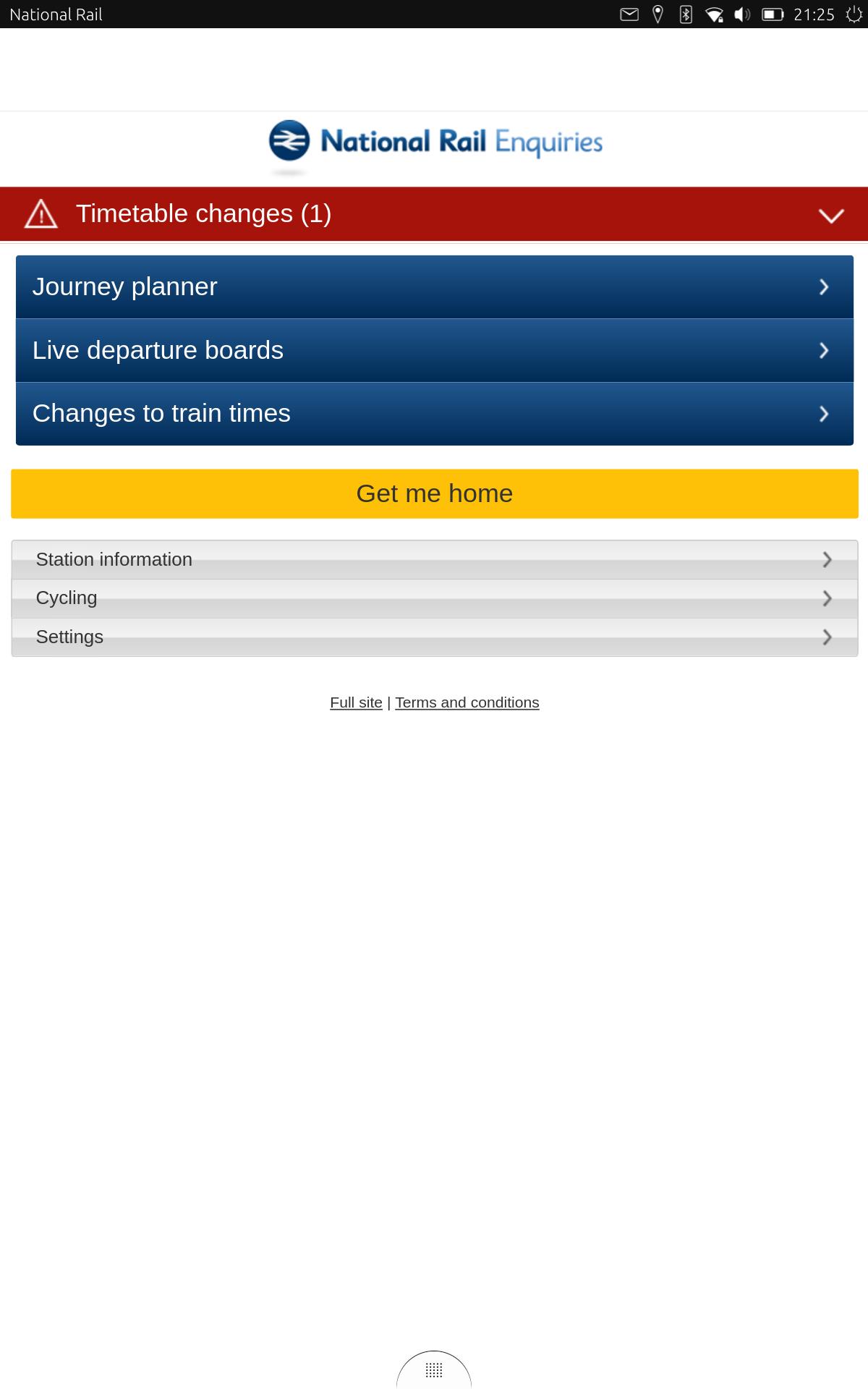 uApp Explorer - nationalrail brispete