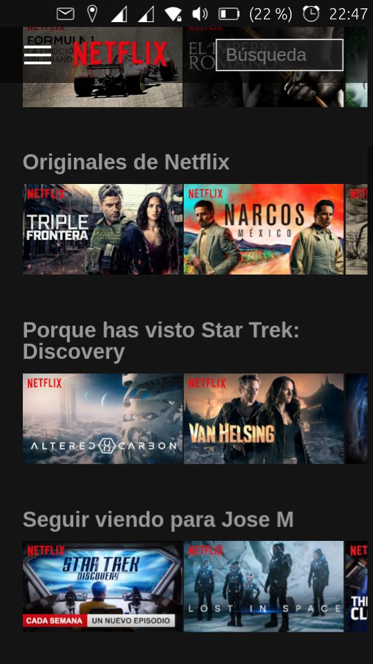 Netflix account - OpenStore